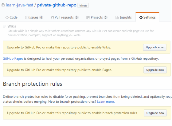 Want a private GitHub repository? It comes with a catch
