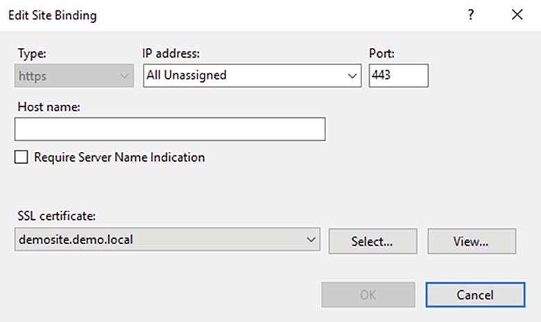 How to configure SSL on IIS with PowerShell