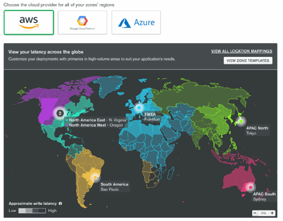 MongoDB Atlas Global Clusters