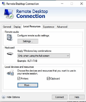 Five reasons Microsoft RDP printer redirection is not working