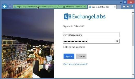 Use AD FS to log in to Office 365