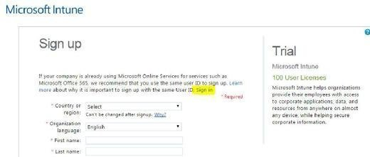Sign in to Office 365 with global admin credentials
