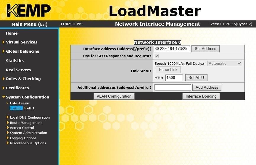Configure a geo load balancer for Exchange 2013
