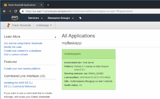 Learn how to deploy a Flask app to AWS Elastic Beanstalk