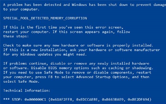 What Is The Blue Screen Of Death? BSOD Explained