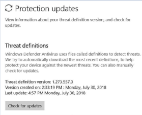 What to do if Windows Defender updates don't work