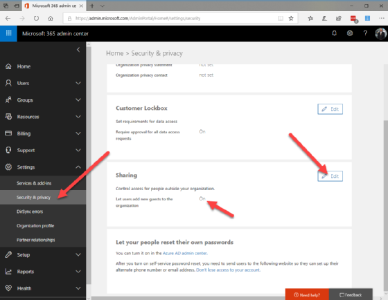 How to track Office 365 guest users
