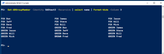 PowerShell commands for Active Directory: Groups management