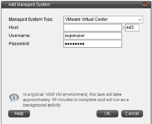 VCommander compute resources