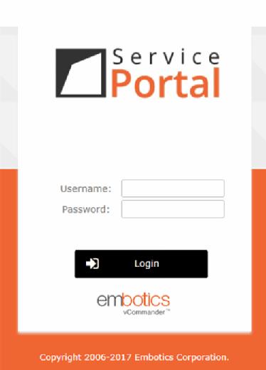 VCommander portal