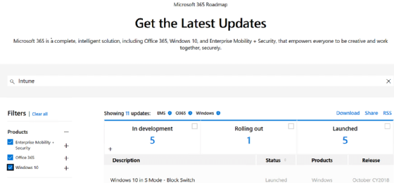 An admin's guide to discover Microsoft Intune updates