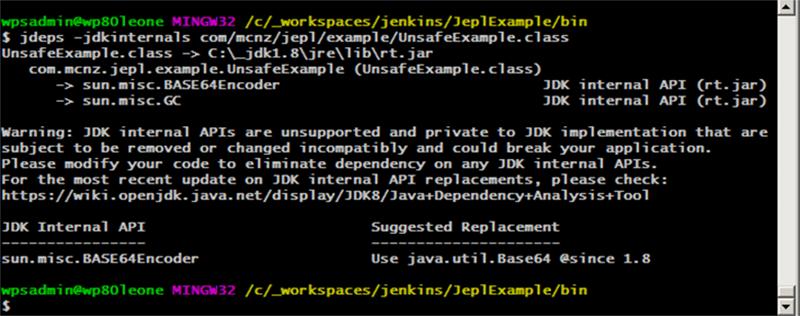 Stop with the unsafe internal Java API calls, or the JDK