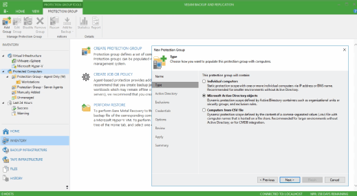 Veeam's Availability Suite 9.5