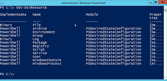 Manage systems with PowerShell DSC