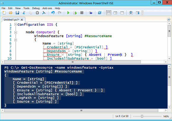 You can also edit properties using a scripting editor, like the PowerShell ISE