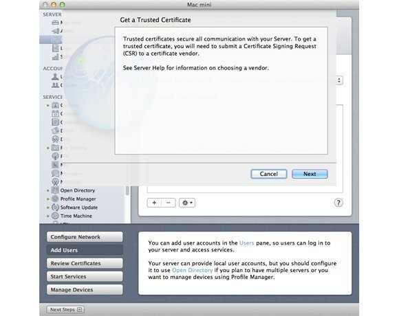 how to make a certificate trusted on mac