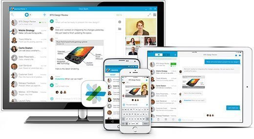 Cisco Spark can be accessed via Web browser and mobile device