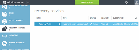 Windows Azure Hyper-V Recovery Manager allows administrators to create orchestrated disaster recovery plans.