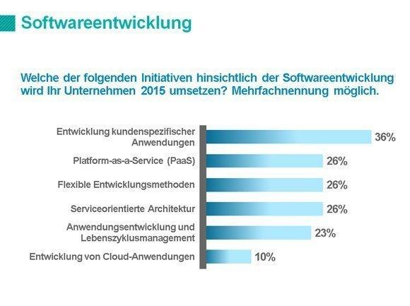 IT-Priorities 2015 Softwareentwicklung