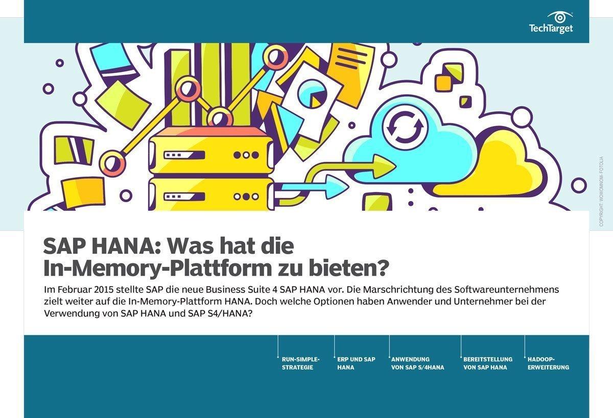E-Handbook SAP HANA Was hat die In-Memory-Plattform zu bieten