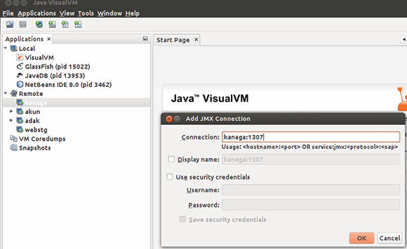 Java VisualVM Figure 1