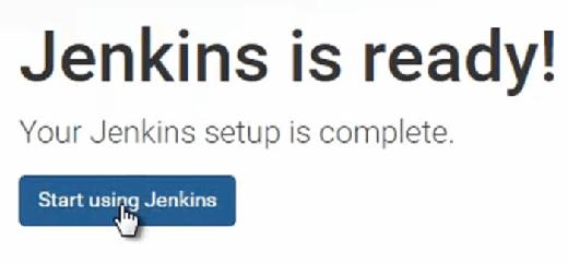 start jenkins