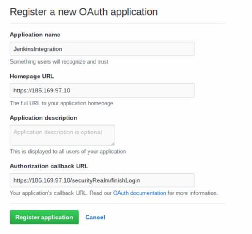 Use the Jenkins OAuth plug-in to securely pull from GitHub