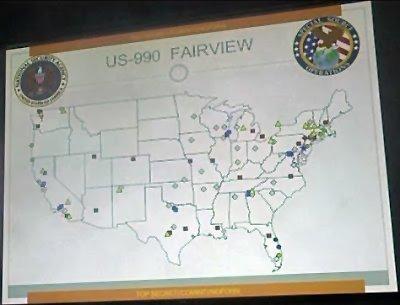 Fairview fibre optic taps