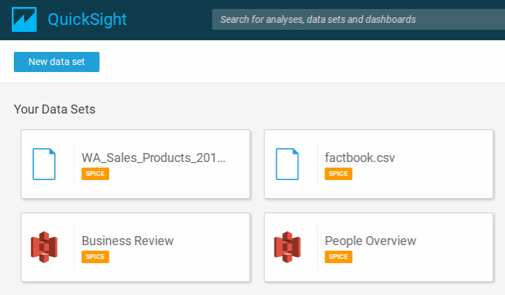 Amazon QuickSight tutorial: Get started with data analysis
