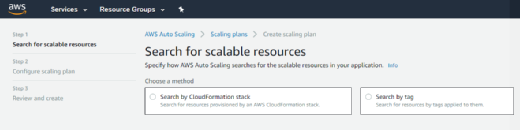 AWS Auto Scaling in the AWS Management Console.
