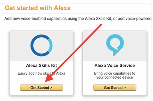 Developers can add new skills to the Alexa Skills Kit.