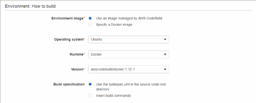 Build Docker container images with AWS CodeBuild