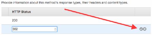 Enter the preferred status code and click the checkmark.