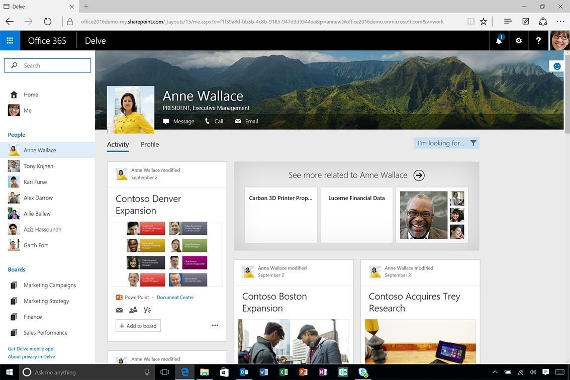 What is Microsoft Office Delve? - Definition from WhatIs com