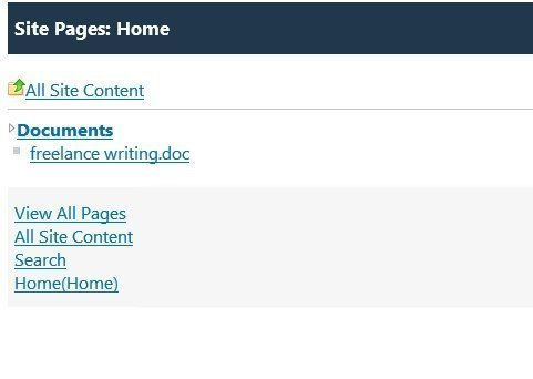 SharePoint classic view