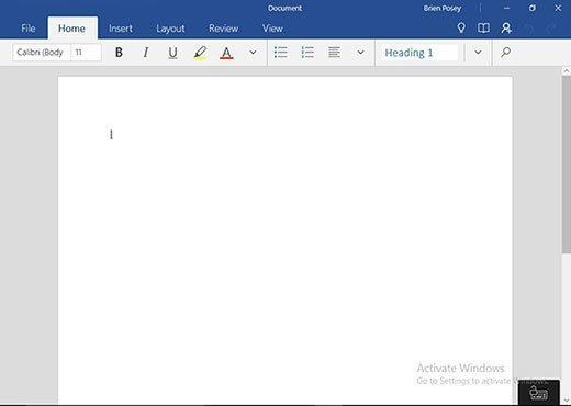 Word Mobile 2016