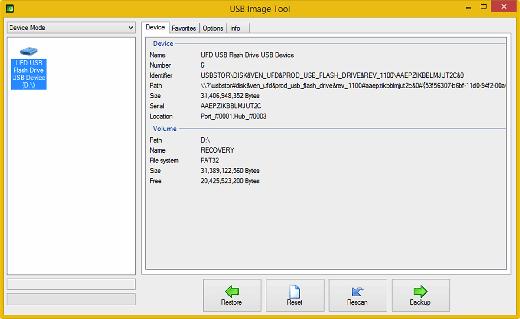 USB Image Tools