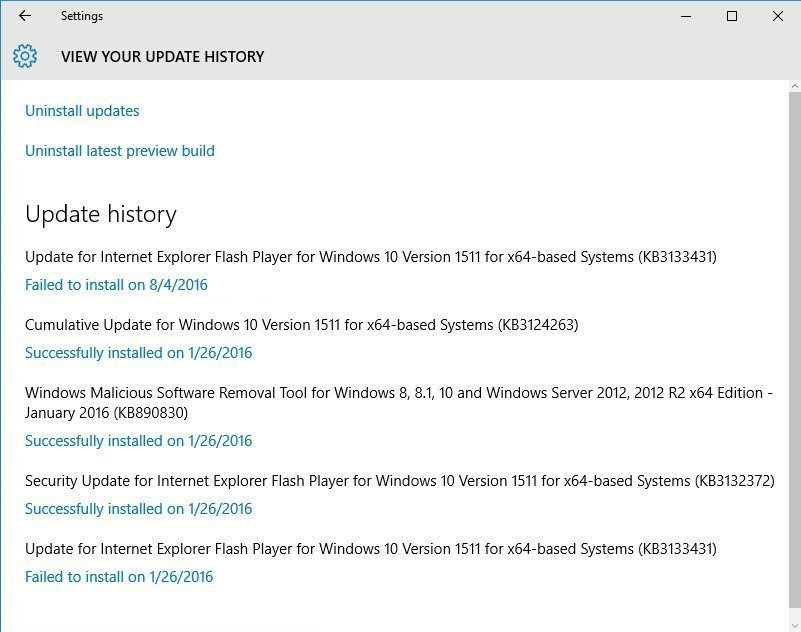 Windows Update failed to install  Now what?