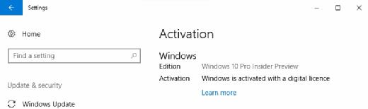Windows 10 VHD image
