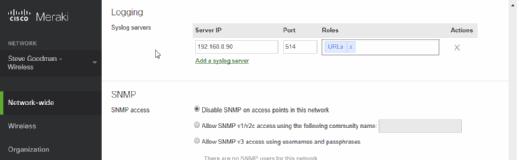 Configure URL data