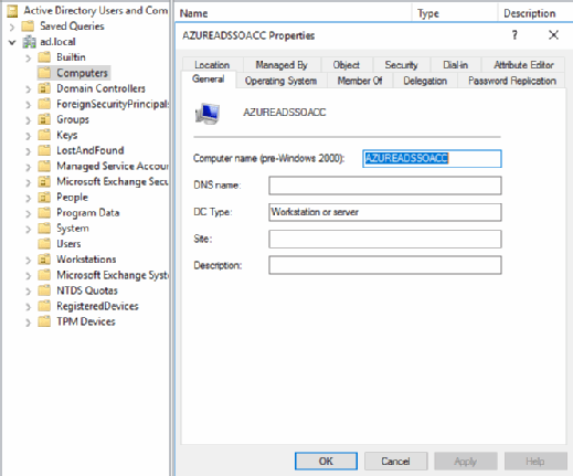 Configure Azure Active Directory SSO service and avoid delays