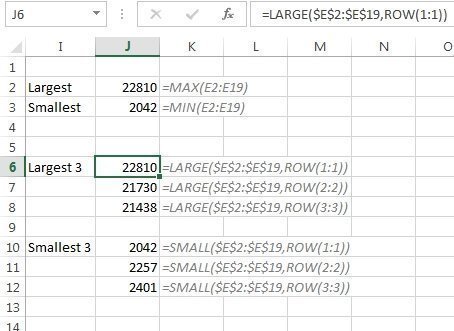 how to find largest value in excel with condition