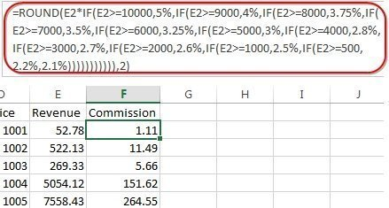 excel tip replacing nested if formulas with vlookup