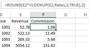 Excel tip: Replacing nested IF formulas with VLOOKUP