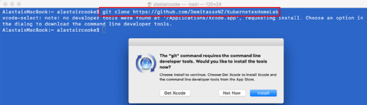 Git command-line developer tools