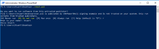 PowerShell self-signed certificate choices
