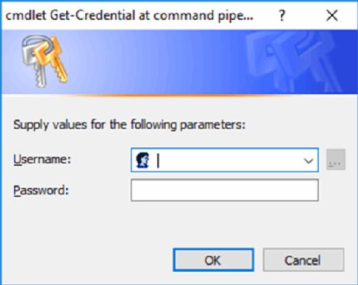 Microsoft Azure administrator credentials