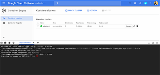 Kubernetes for Google Container Engine