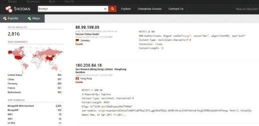 How to do a basic search in Shodan