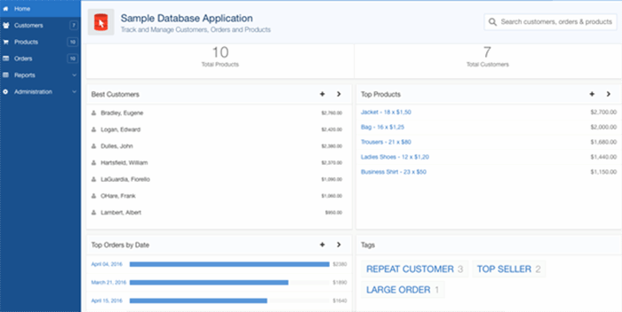 Oracle APEX application tools ease development of database apps